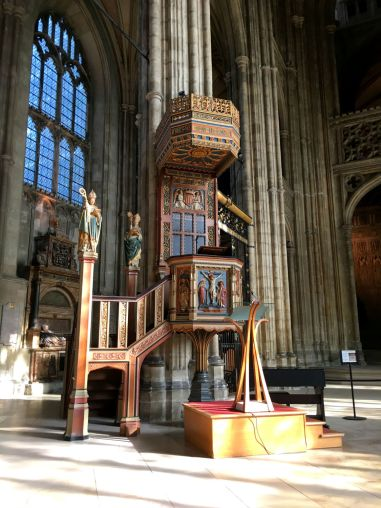 Pulpit, Cathedral of Canterbury