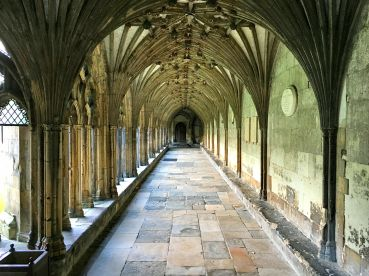 Cloister, Cathedral of Canterbury