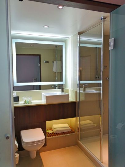 Bathroom, Courtyard by Marriott Cologne