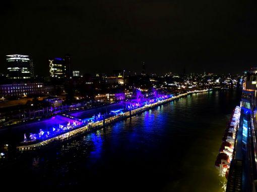 Sail Away-Party, Norwegian Escape in Hamburg