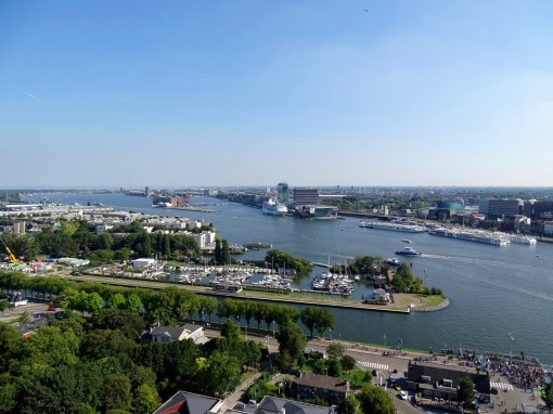 View from A'DAM Sky Deck