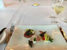 Starter - Lobster with Marinated Tuna Tartar