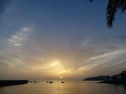 Sunset in Arguineguín