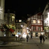 Switzerland - Christmas in the Old Town of St. Gallen