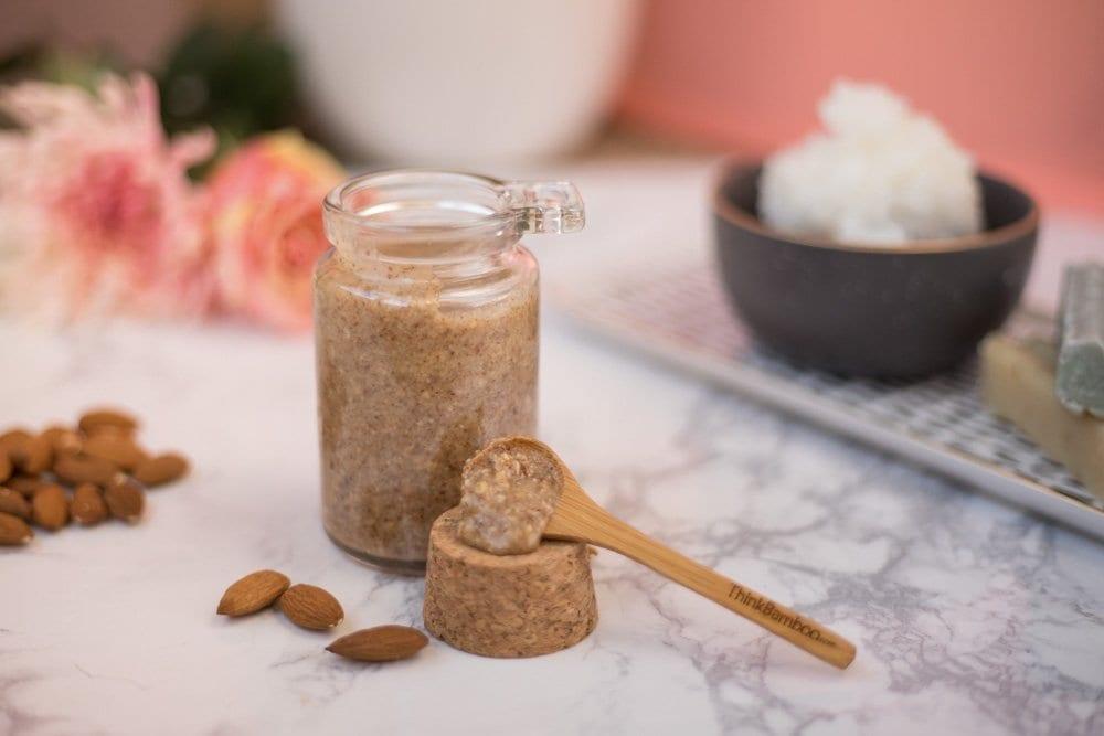 DIY FACE SCRUB | Orange Scrub | Almond Oil | Spa DIY | DIY Scrub | Gentle Face Scrub | DIY face wash | DIY Spa Products