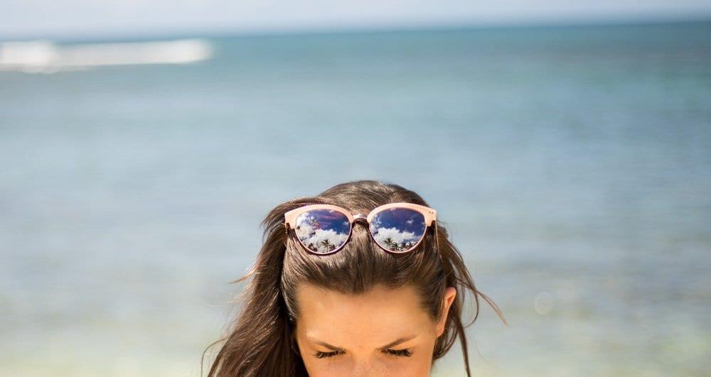 beach hat | Beach outfit | High waist swimsuit | swimsuit trends