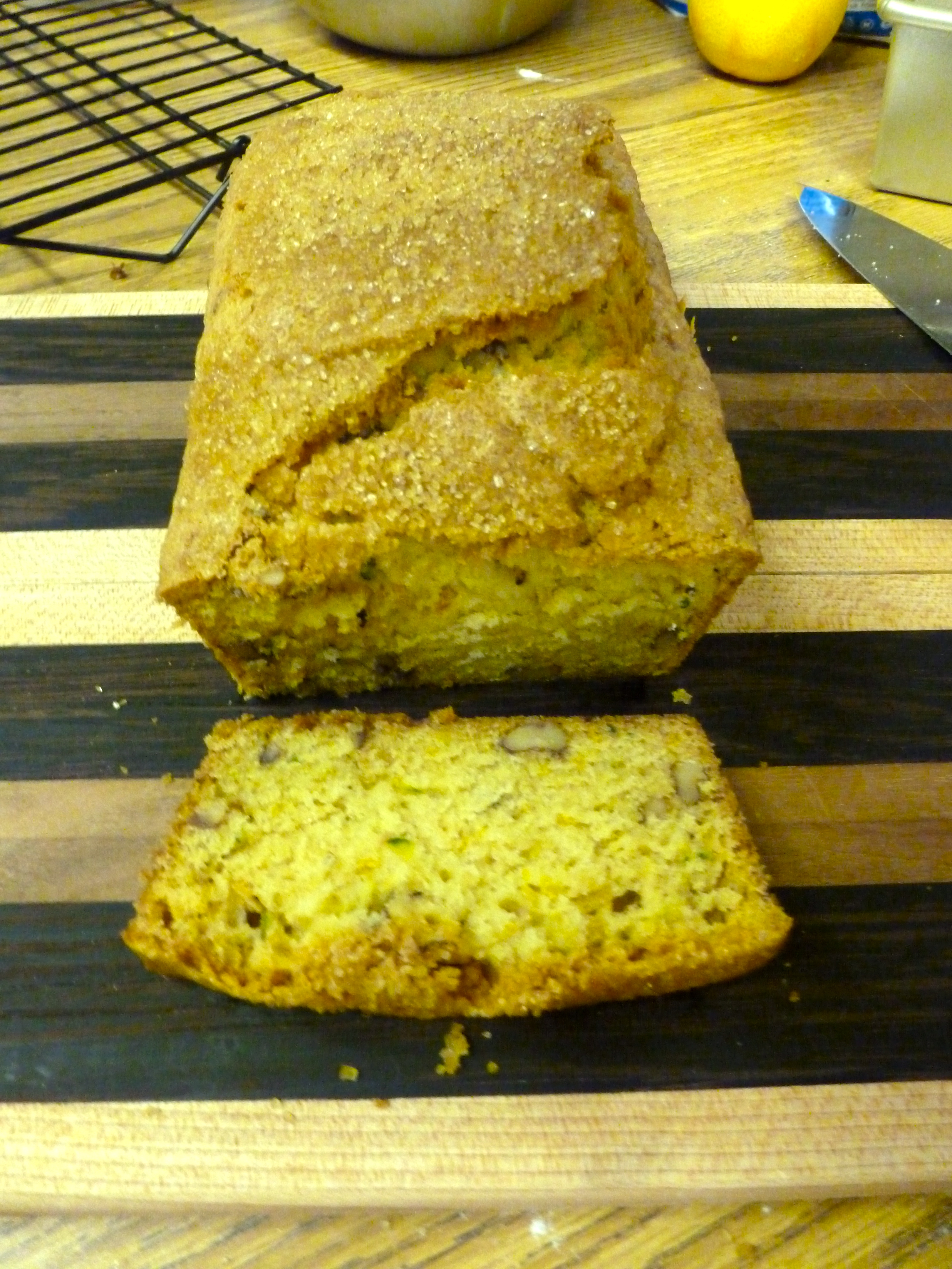 zucchini sunflower bread  the year of living audaciously