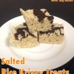 Salted Rice Krispy Treats