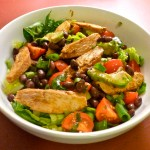 Southwestern Black Bean and Grilled Chicken Salad