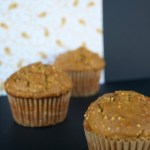 Pumpkin Millet Muffins - a perfect fall treat!