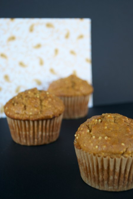 Pumpkin Millet Muffins - The Year of Living Audaciously