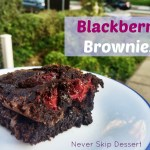 Blackberry Brownies (+New Website!!)