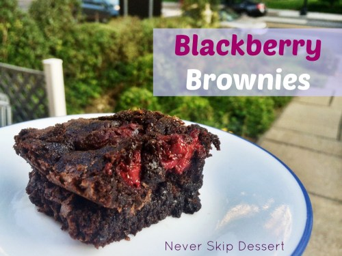 Blackberry Brownies