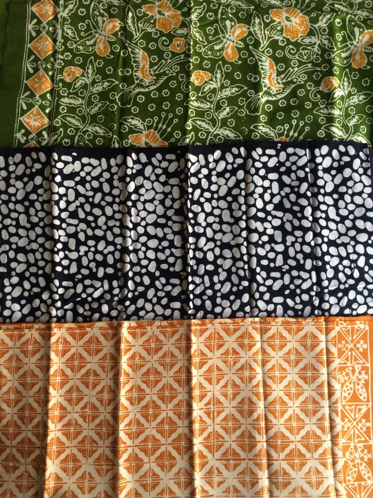 Bandung batik that I'll get tailored into clothes!