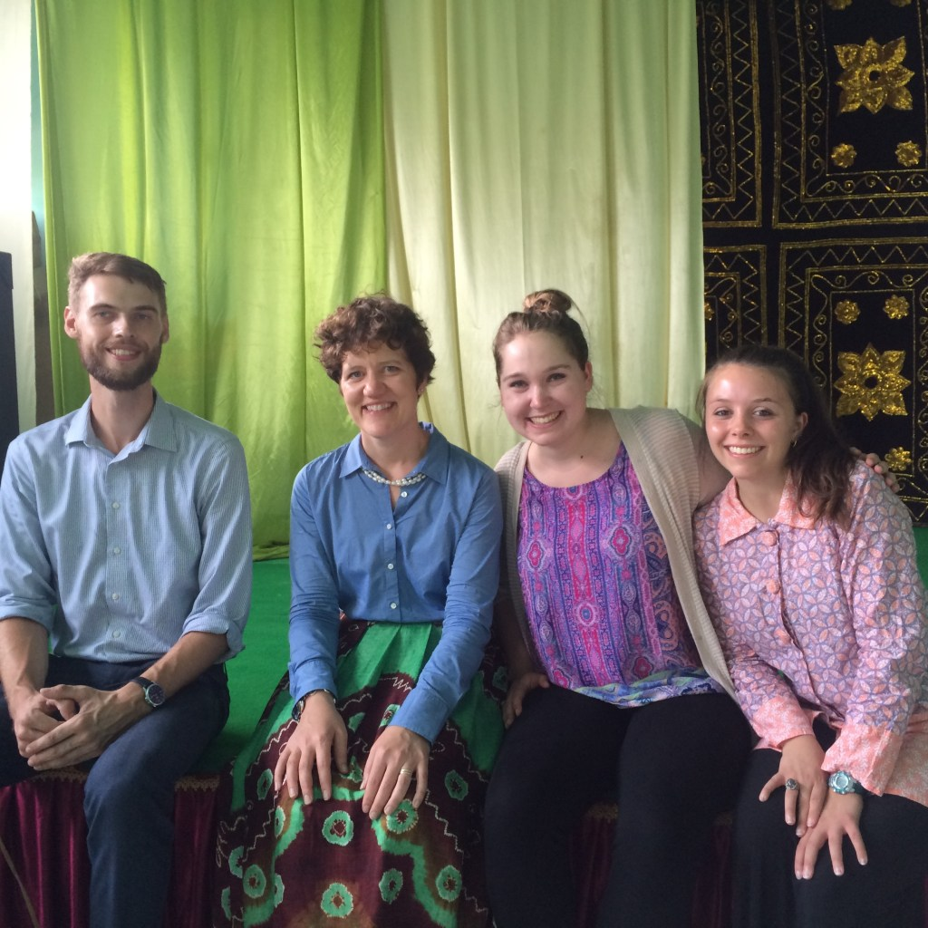 Jenn Uhler, director of the Regional English Language Office (RELO) of the US Embassy dropped into Banjarmasin for a visit