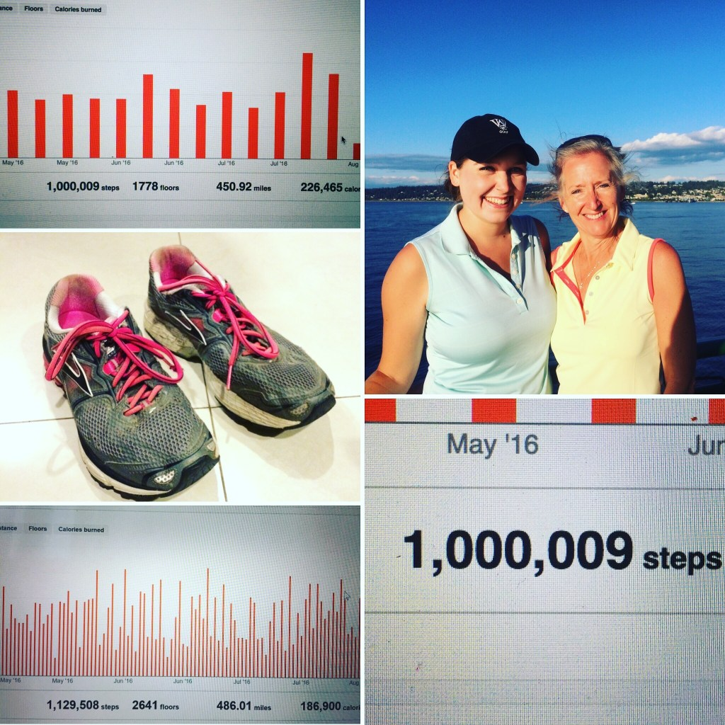 The Million Step Challenge: 1 million steps in three months. We did it!