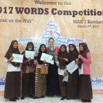 WORDS Competition 2017 at MAN 1 Kendari