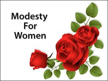 Modesty For Women