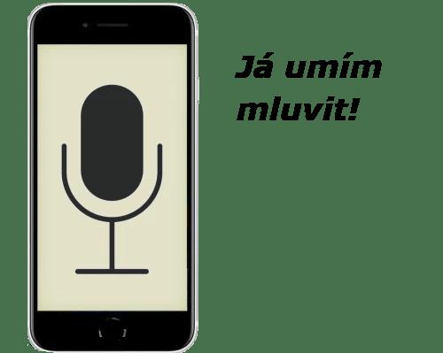 Obrázek iPhonu - Já umím mluvit!