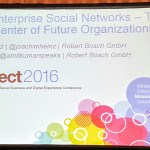Podcast: Robert Bosch and enterprise social networks at #IBMConnect 2016