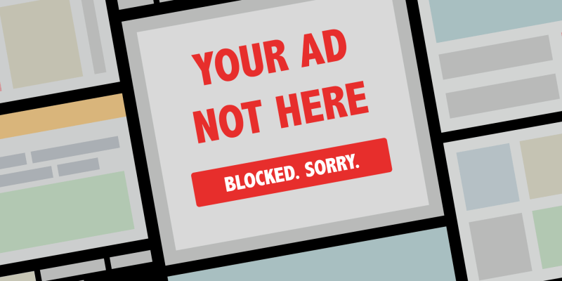 How to solve the ad blocking question