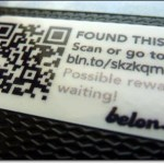 QR codes at heart of lost-and-found service Belon.gs