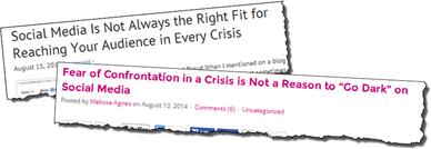 Crisis headlines