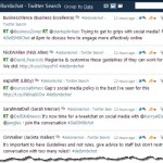 How to hack an RSS feed from a Twitter hashtag