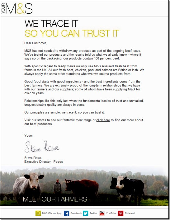 Marks & Spencer email