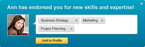 Fine-tune your LinkedIn profile with Endorsements