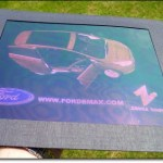 Experiencing Ford's 3D B-MAX hologram