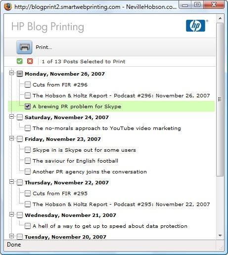 hpblogprint