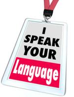 I speak your language