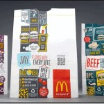 McDonald's new packaging, a QR code and telling brand stories