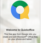 Google Quickoffice just upset the Microsoft Office mobile cart