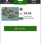 Paying with your smartphone at Starbucks UK
