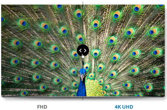 FHD vs 4K UHD