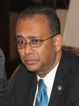 Organization of American States (OAS) Assistant Secretary General Albert Ramdin
