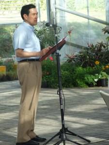 President Ma addresses gathering