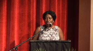 Director of the Nevis Island Administration's Department of Community Development Janette Meloney
