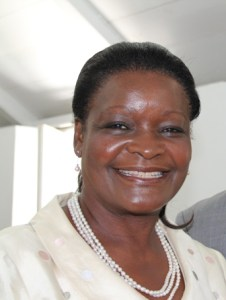 Vice President of the Nevis Women's Council Vernie Amory
