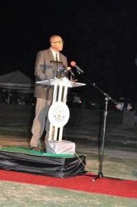 Minister of Sport Hon. Glenn Phillip