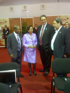 PM Douglas and TT, SVG and STL PM's at CELAC