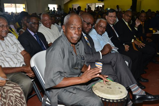 Sir Kennedy Beating the Drums of UNITY