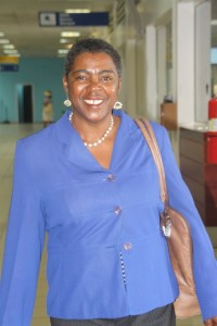 Chairperson of the SIDF Board of Councillors, Mrs. Hermia Morton-Anthony