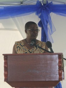 SIDF Chairperson, Mrs. Hermia Morton-Anthony