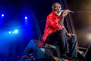 Freddie McGregor performing at St. Kitts Music Festival