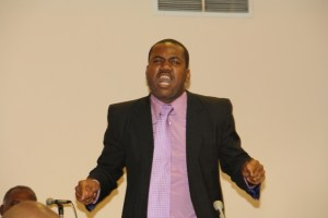 Hon. Shawn Richards, Political Leader of the People's Actio Movement (PAM).