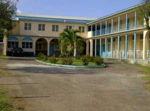 The Western Campus of the Basseterre High School