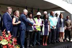 . The construction of the Marriott Port-au-Prince Hotel created more than 1,100 jobs and will create more jobs in the future for Haiti's skilled workforce